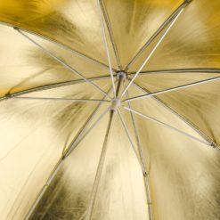 walimex Reflexschirm gold, ⌀84cm