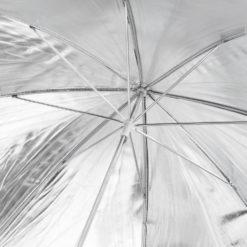 walimex Reflexschirm silber, ⌀84cm