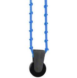 walimex Hintergrundexpan, Kette (blau) und Gewicht