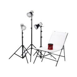 walimex Daylight 150/150/150 mit Aufnahmetisch
