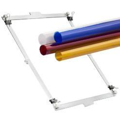 walimex Farbfilterset für Hintergrundreflektor 4tlg. mit Rahmen