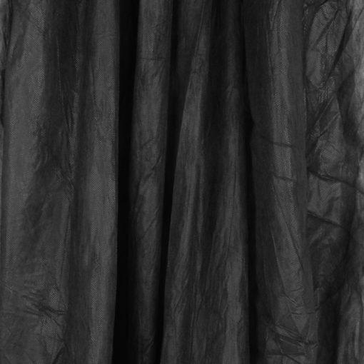 walimex leichter Stoffhintergrund 3x6m schwarz