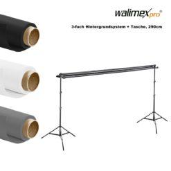walimex pro 3-fach Hintergrundsystem