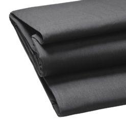 walimex Stoffhintergrund uni schwarz 2,85x6m