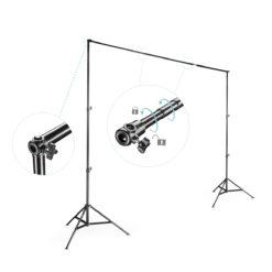 walimex Teleskop Hintergrund-System mit Tasche