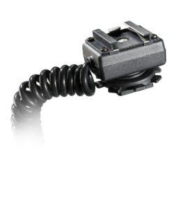 walimex Spiral-Blitzkabel TTL 2m für Olympus/Panasonic