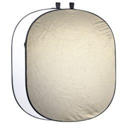 walimex 2in1 Faltreflektor wavygold/weiß, 145×200cm