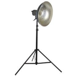 walimex pro Quarzlight VC-1000Q mit Beauty Dish und Stativ