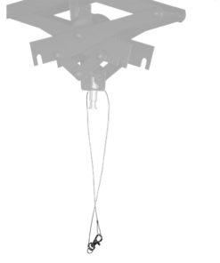 walimex Sicherungsdraht für Schere/Pantograph