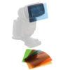 walimex Farbfilter-Set für Kompaktblitze, 6tlg.
