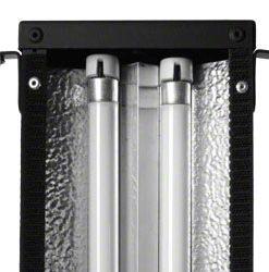 walimex pro Daylight Stripe 110W mit Abschirmklappen