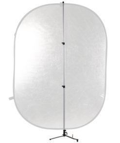 walimex Reflektorhalter mit Dreibein-Standfuß