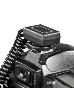 walimex 2-fach Spiral-Blitzkabel für Canon E-TTL II