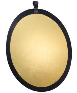 walimex Faltreflektor gold/silber, ⌀56cm