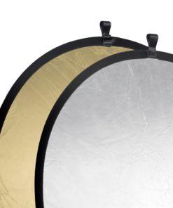 walimex pro Faltreflektor gold/silber, ⌀107cm