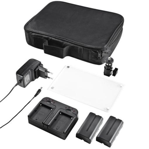 walimex pro Videoleuchte 312 LED BiColor