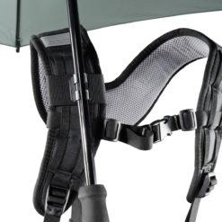 Swing handsfree Regenschirm mit Tragegestell