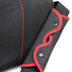 mantona Cool Bag Kameratasche schwarz/rot