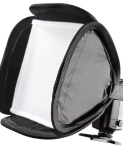 walimex pro Magic Softbox 23x23cm für Systemblitze