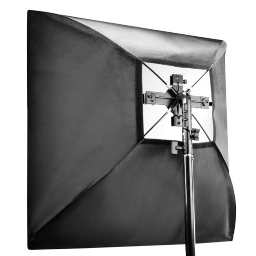 walimex 4-fach Systemblitz-Halter + Softbox 60×60cm