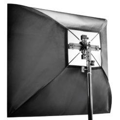 walimex 4-fach Systemblitz-Halter + Softbox 90×90cm
