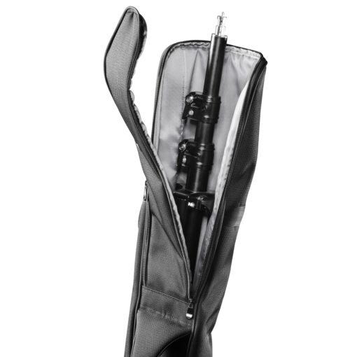 mantona Lampenstativ Tasche 99cm schwarz