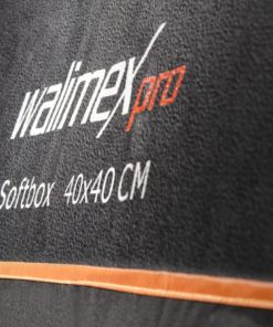 walimex pro Softbox Orange Line 40x40cm
