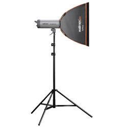 walimex pro Softbox Orange Line 40×40cm