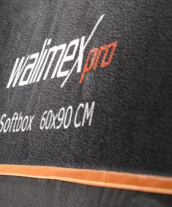 walimex pro Softbox Orange Line 60×90cm