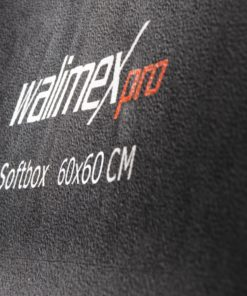 walimex pro Softbox Orange Line PLUS 60×60cm