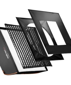walimex pro Softbox Orange Line PLUS 90×90cm