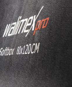 walimex pro Softbox Orange Line PLUS 80×120cm