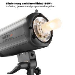 walimex pro VC-300 Excellence Studioblitzleuchte