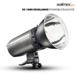 walimex pro VC-1000 Excellence Studioblitzleuchte