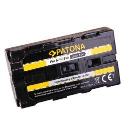 Patona NP-F550 2200mAh Li-Ion Akku