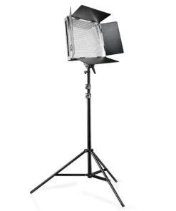 walimex pro 1000 LED, dimmbar mit Stativ