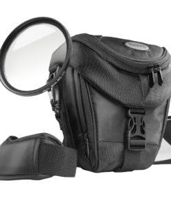 mantona Premium Colttasche mit UV-Filter MC slim 58mm