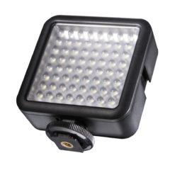 walimex pro Videoleuchte 64 LED, dimmbar