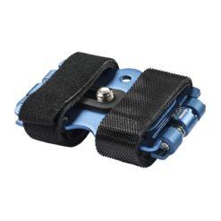 "mantona Alu-Fahrradbefestigung ¼"", blau"