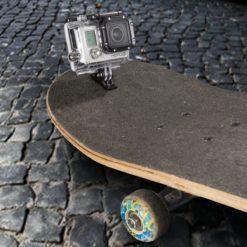 mantona Alu-Mount Schraubhalterung für GoPro
