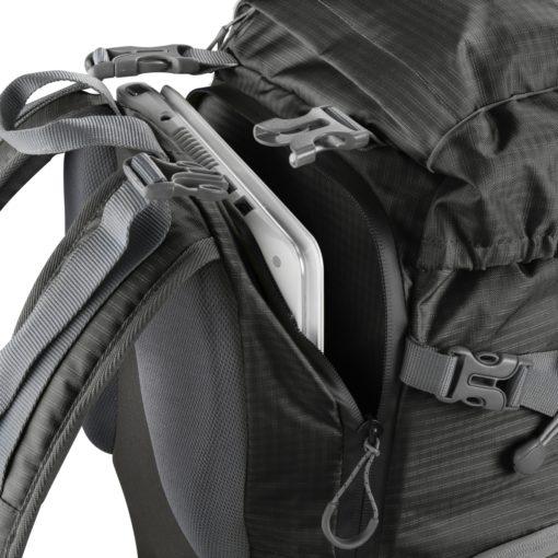 mantona elements Outdoor-Rucksack schwarz