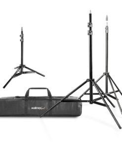 walimex pro Lampenstativ-Set mit Tasche