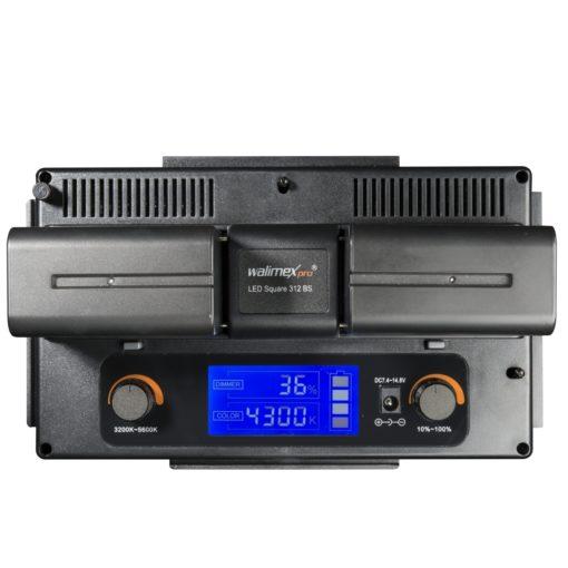 walimex pro Foto/Video LED Square 312 BiColor-Set