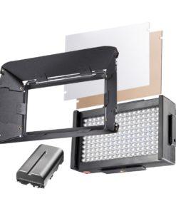 walimex pro Foto/Video LED Square 170 BiColor-Set