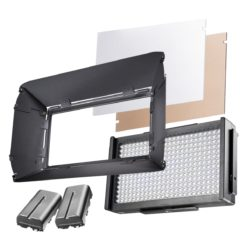 walimex pro Foto/Video LED Square 312 Daylight-Set