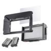 walimex pro Foto/Video LED Square 312 BiColor-Set
