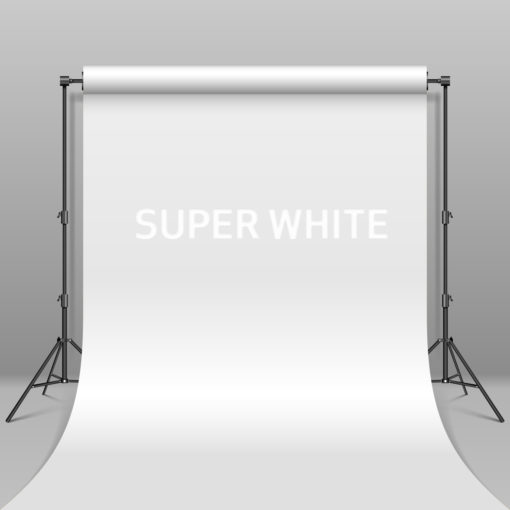 BD Hintergrund Papier Super White