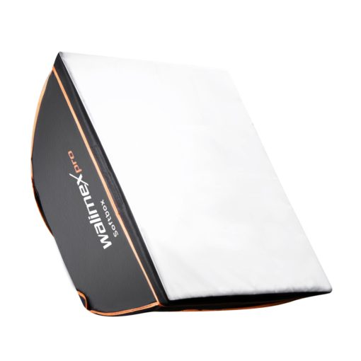 walimex pro Softbox Orange Line 40×40cm