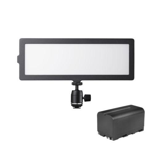 walimex pro Soft LED 200 Flat BiColor mit Akku