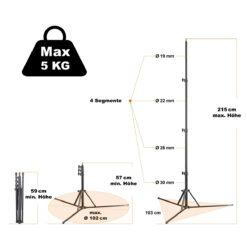 walimex pro GN-806 Lampenstativ